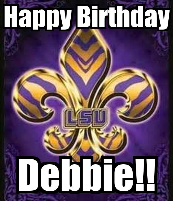 Happy Birthday Debbie!! Poster