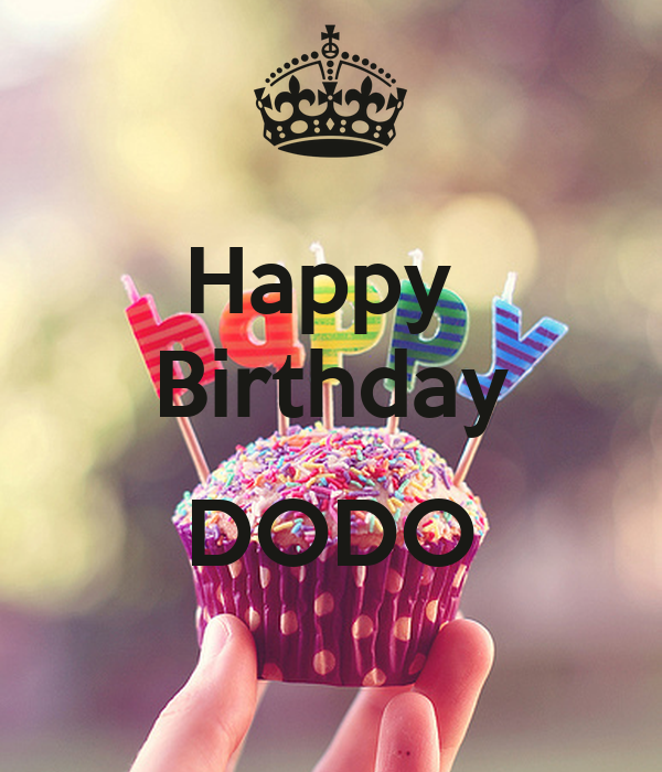 happy birthday dodo