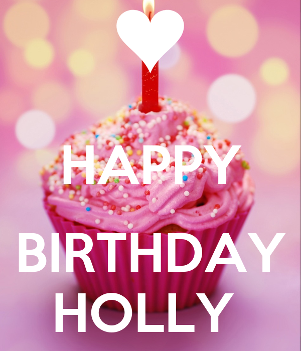 Happy Birthday Holly Cake Images