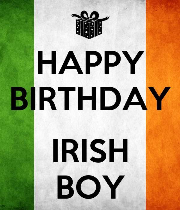 happy irish birthday