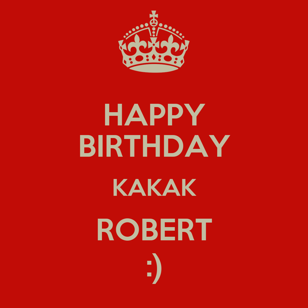 HAPPY BIRTHDAY KAKAK ROBERT :) Poster