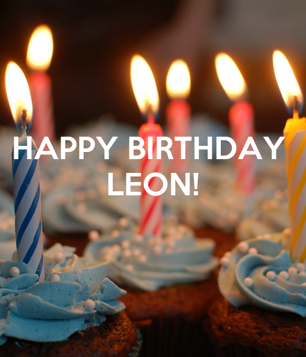 Birthday leon happy 40+Leo Birthday