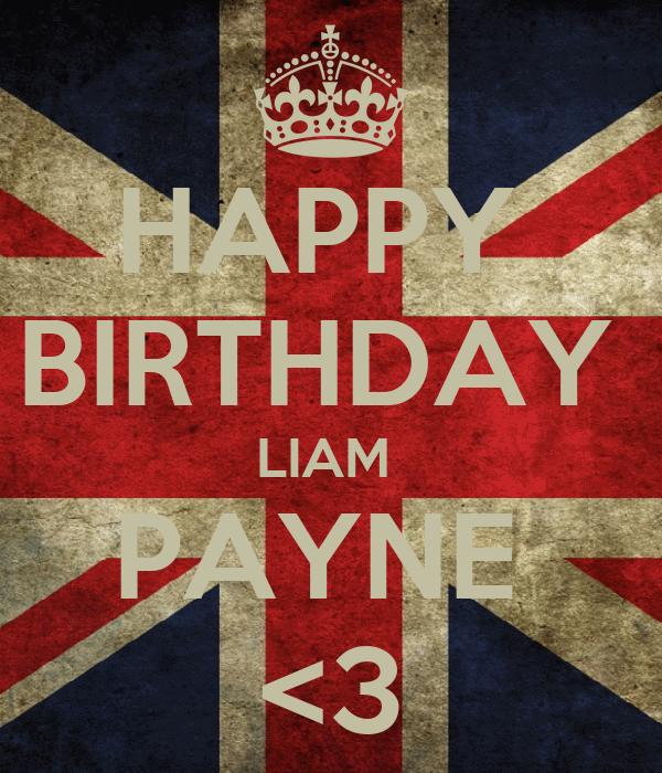 HAPPY BIRTHDAY LIAM PAYNE