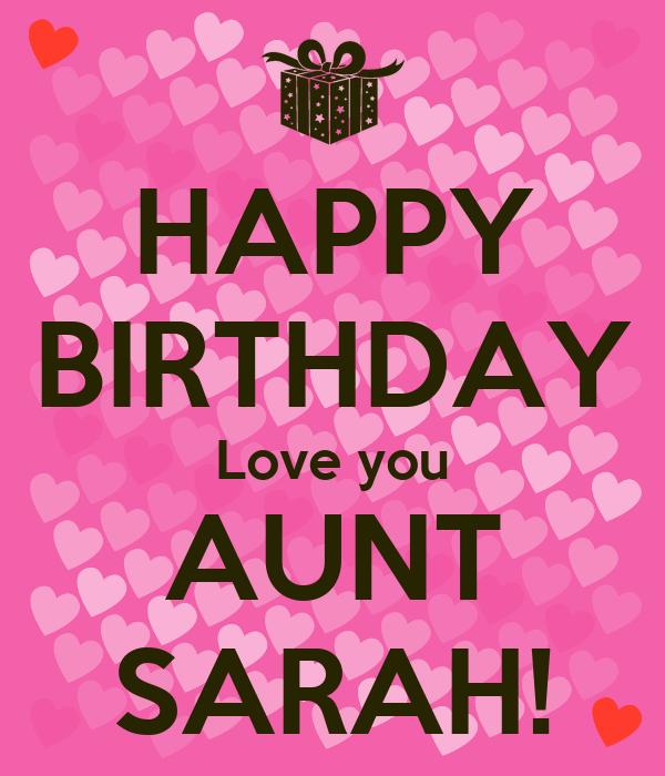 Happy Birthday Quotes For my Aunt Happy Birthday Love You Aunt