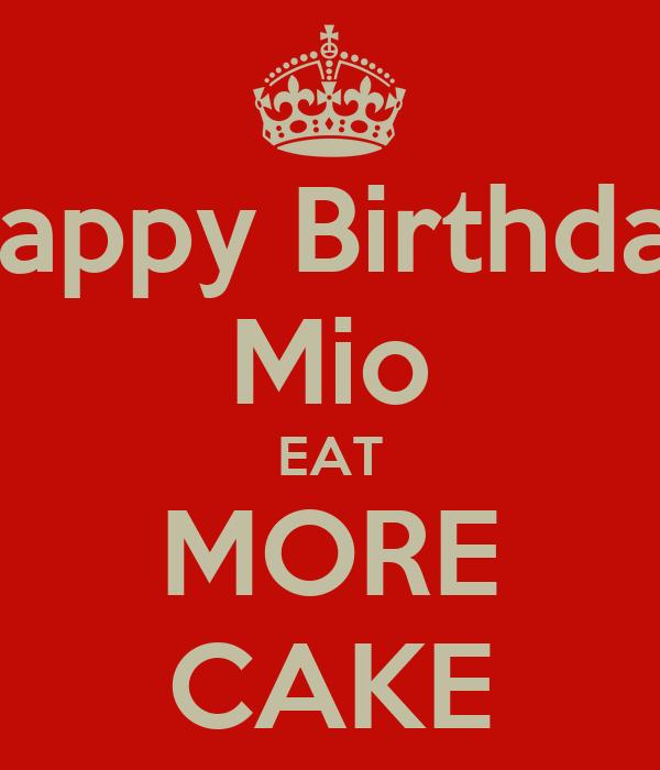 Mio More Cake Shop