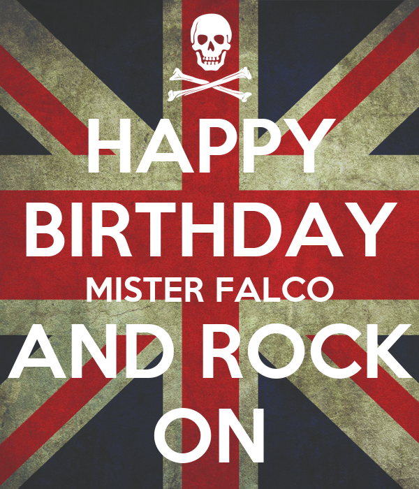 Bildergebnis für Falcos birthday bilder