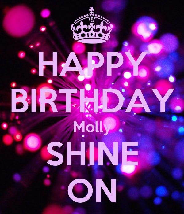 Happy Birthday Molly Cake