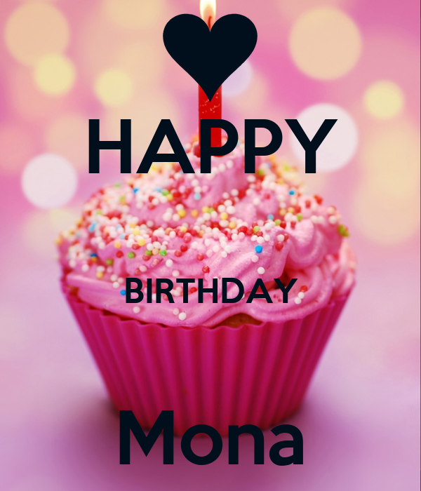 happy birthday mona HAPPY BIRTHDAY Mona Poster | Ahmed Samy | Keep Calm o Matic happy birthday mona