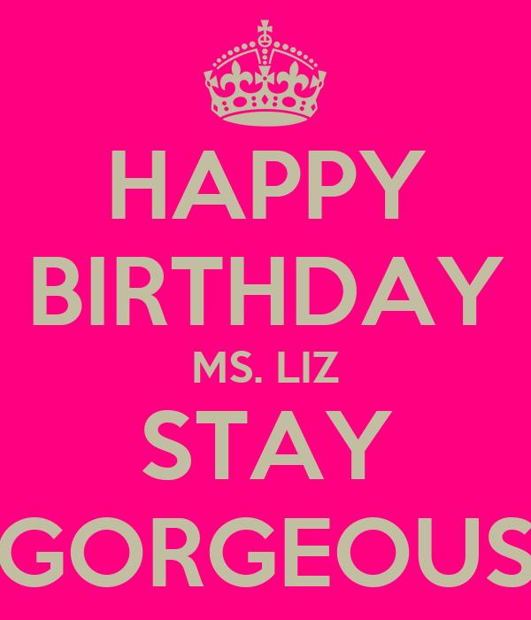 Images Happy Birthday Liz