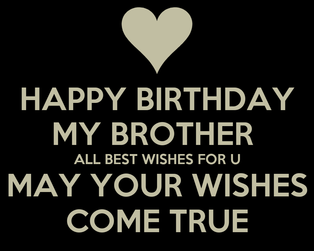 HAPPY BIRTHDAY MY BROTHER ALL BEST WISHES FOR U MAY YOUR ...