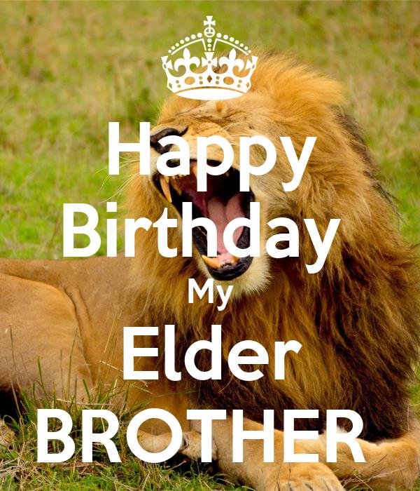 Happy Birthday My Elder BROTHER Poster | sofis509 | Keep ...
