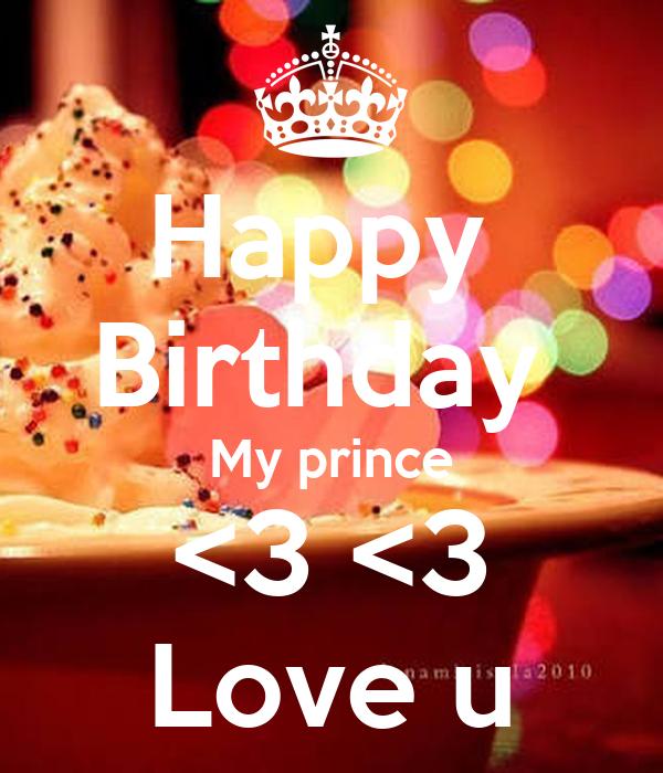 Happy Birthday My Prince