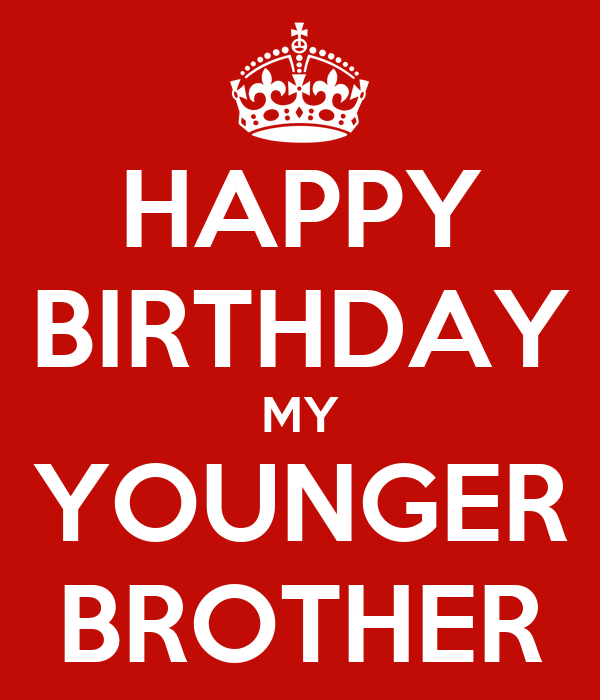 Happy Birthday Little Brother Cards Dear