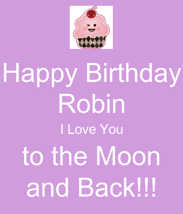 happy birthday robin