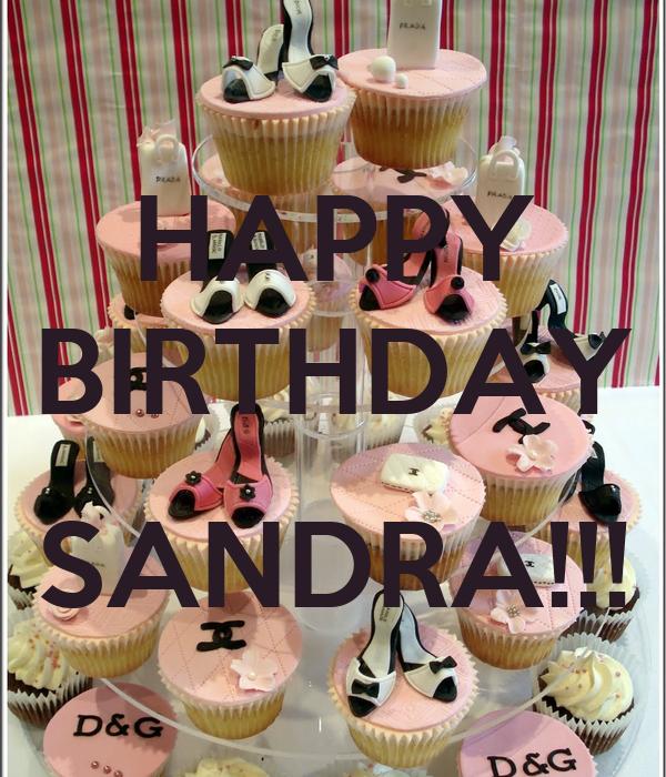 Image Result For Happy Birthday Sandra Cake