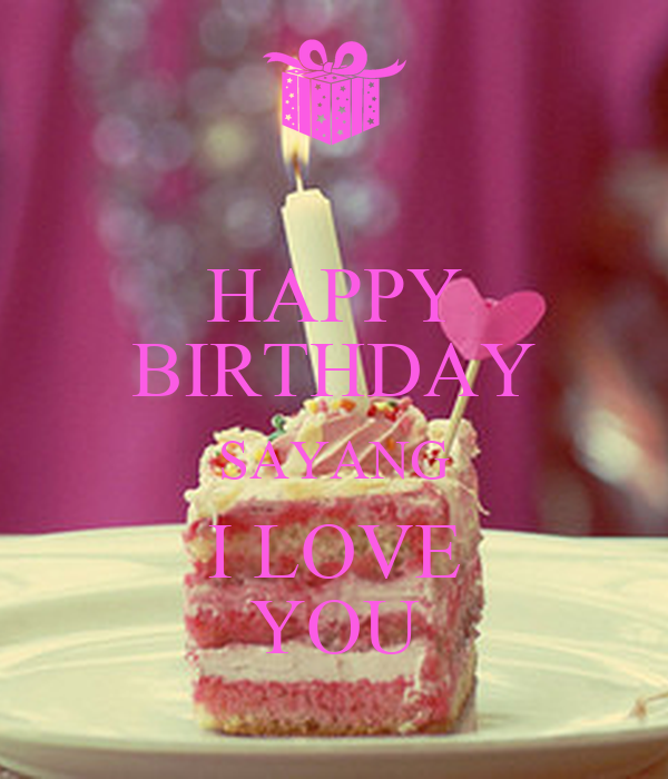 Happy Birthday I Love You