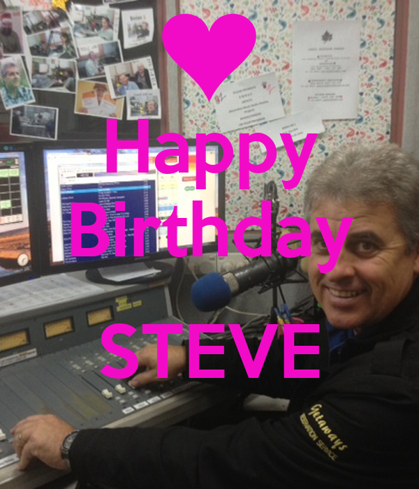 happy birthday steve keep calm and carry on image generator. Black Bedroom Furniture Sets. Home Design Ideas