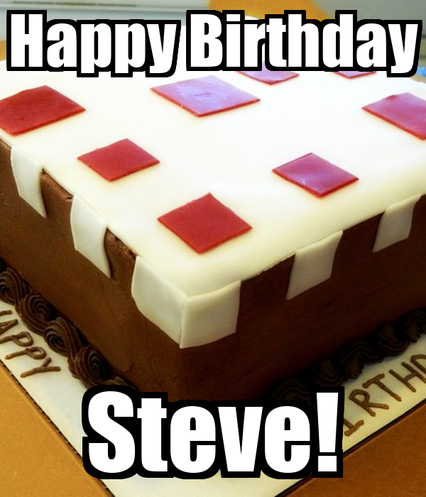 happy birthday steve poster owlivia10 keep calm o matic. Black Bedroom Furniture Sets. Home Design Ideas