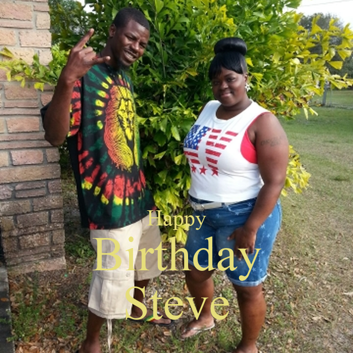 happy birthday steve poster lisa keep calm o matic. Black Bedroom Furniture Sets. Home Design Ideas