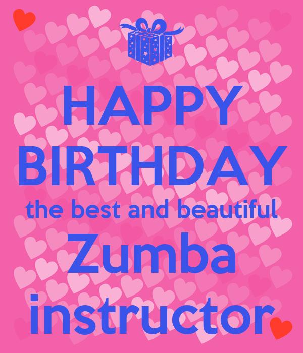 zumba birthday