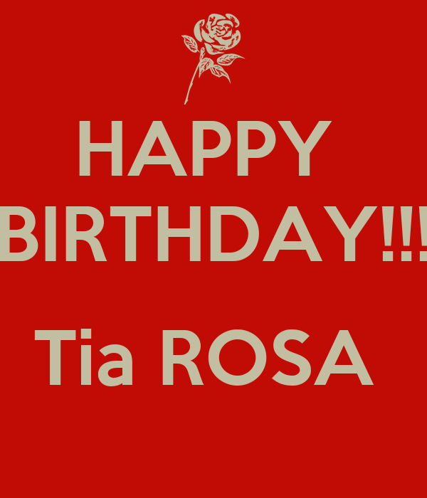 Tia rosas coupons