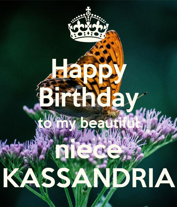 Happy Birthday To My Beautiful Niece KASSANDRIA