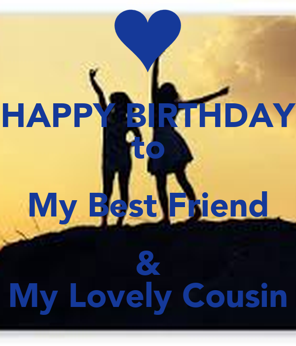 happy birthday to my best friend my lovely cousin poster mir