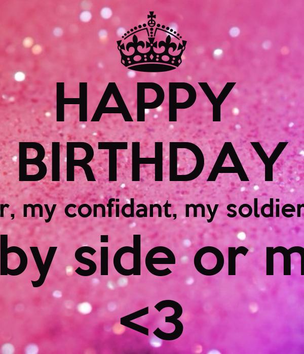 To My Bestie Keep Calm And Say Happy Birthday To My Bestie Sandra