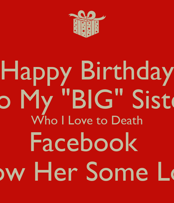 Big Sister Birthday Funny – Daily Motivational Quotes