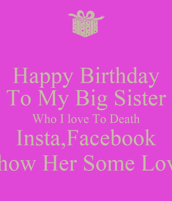 sister happy birthday dear sister happy birthday sister happy birthday ...