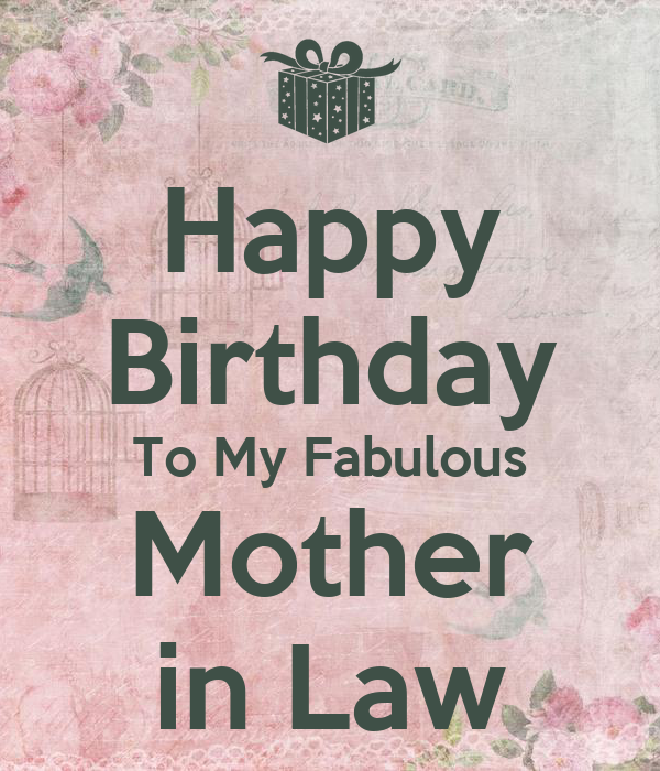 Mother In Law Birthday Quotes. QuotesGram