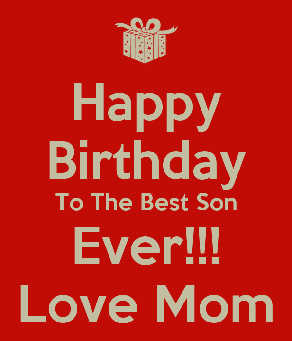 Happy Birthday Son Quotes. QuotesGram