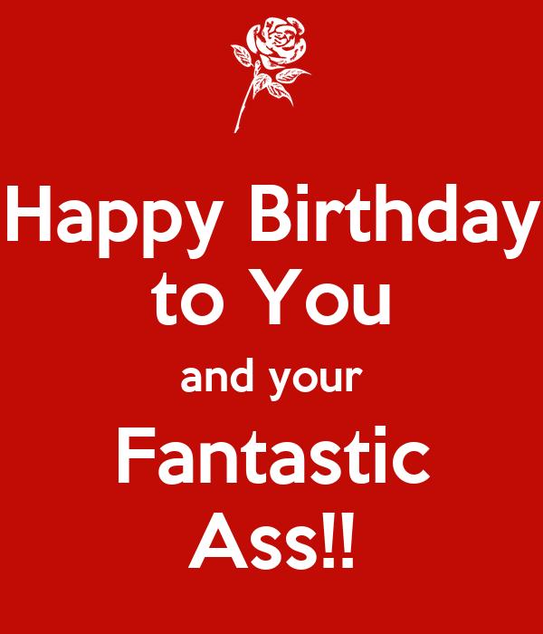 Happy Birthday Ass 26