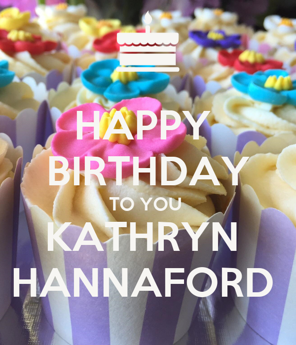 Wondrous Happy Birthday To You Kathryn Hannaford Poster Linds Keep Calm Personalised Birthday Cards Veneteletsinfo