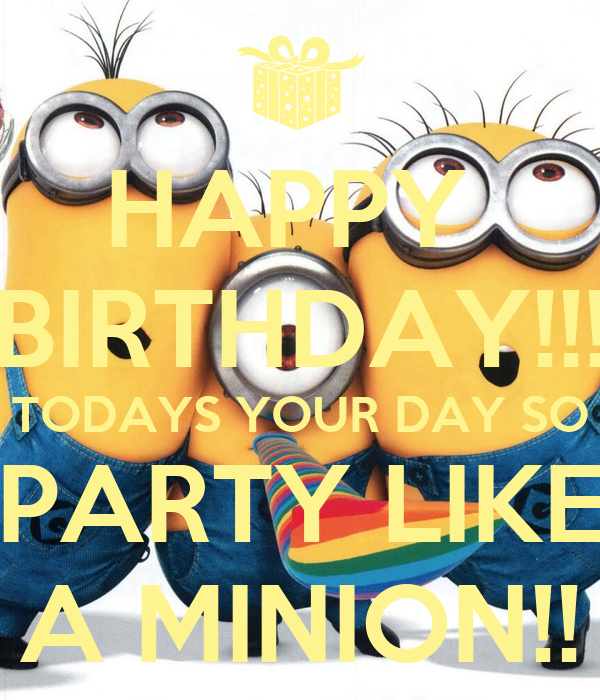 Pictures of Minions Saying Happy Birthday hd Happy Birthday Minions