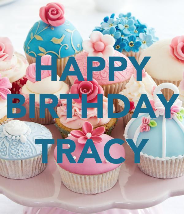 Happy Birthday Tracy Cake Images