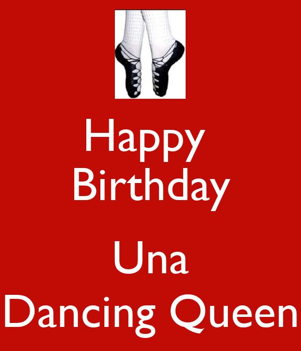 Dancing Birthday Birthday Una Dancing Queen