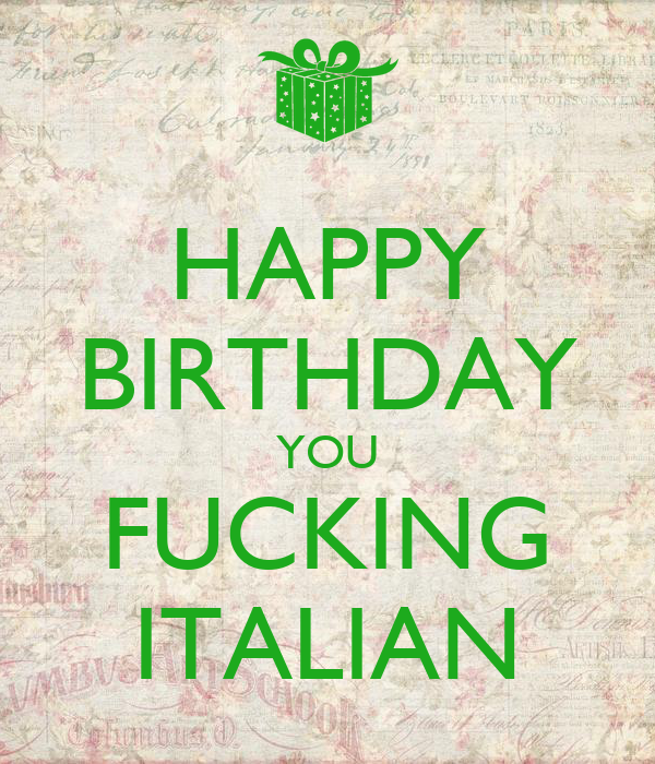 Italian For Fuck You 27