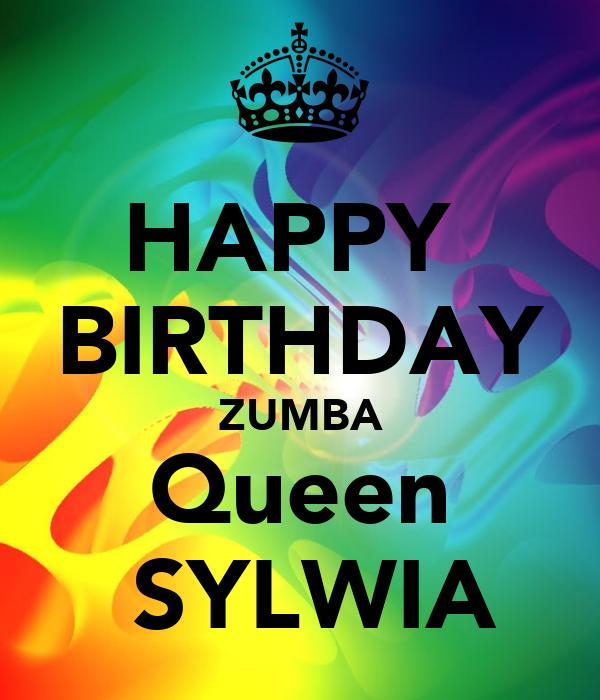 HAPPY BIRTHDAY ZUMBA Queen SYLWIA