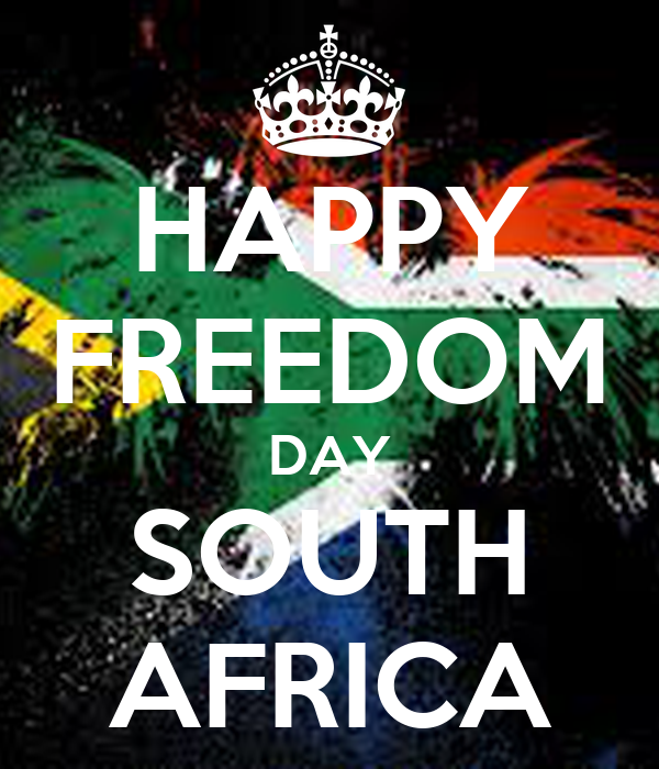 HAPPY FREEDOM DAY SOUTH AFRICA Poster | B | Keep Calm-o-Matic