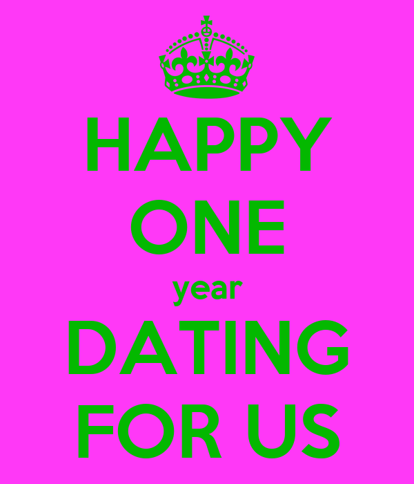 dating for 1 year and a half