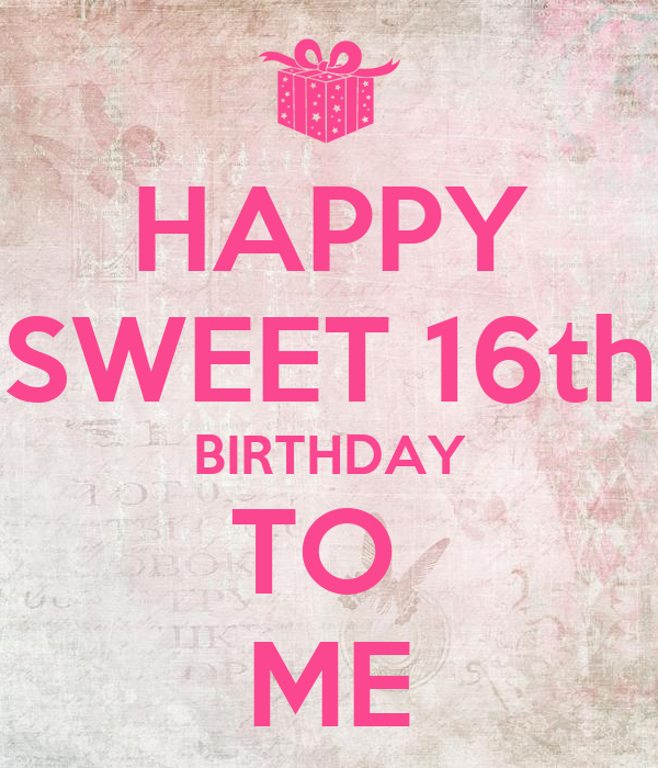 Sweet 16 Birthday Quotes Happy. QuotesGram