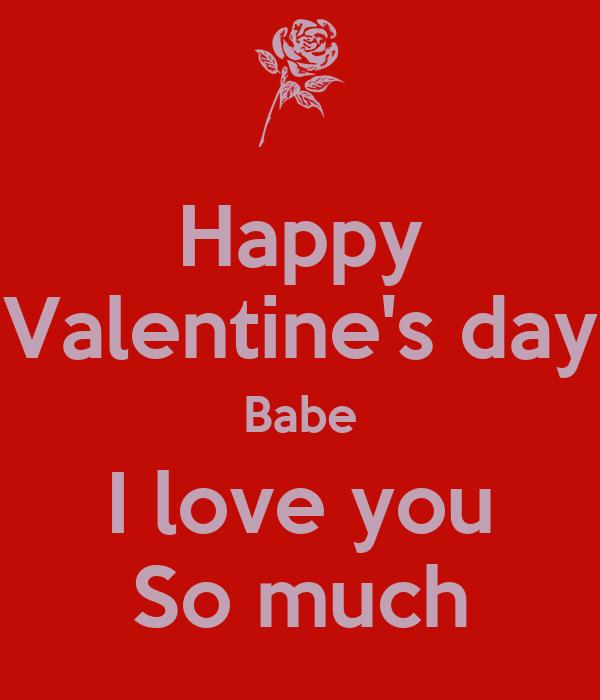 Happy Valentines Day I Love You Baby Happy Valentine's day ...