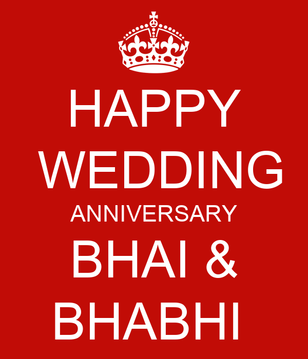 Image Result For Wedding Anniversary Wishes For Brother And Bhabhi