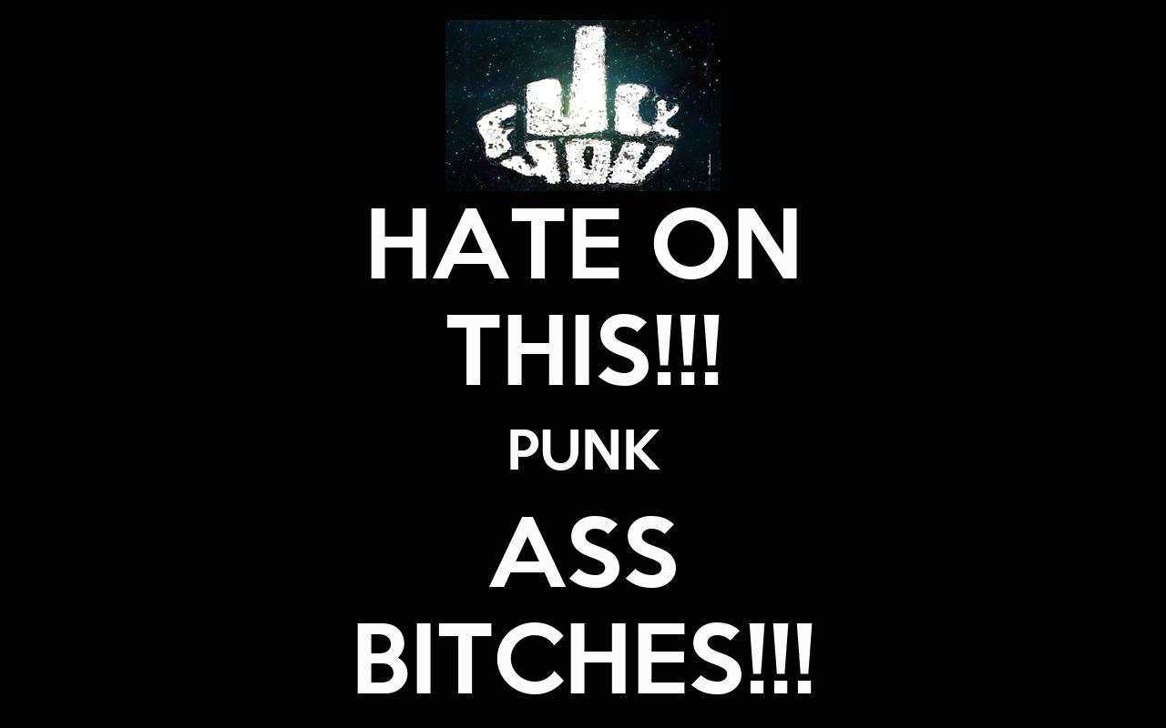 Punk ass bitch font