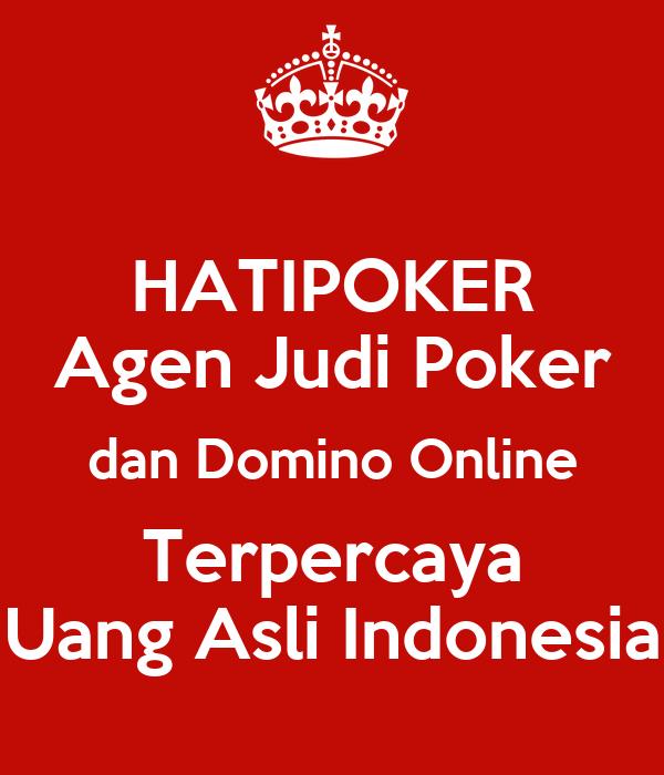 web poker uang asli