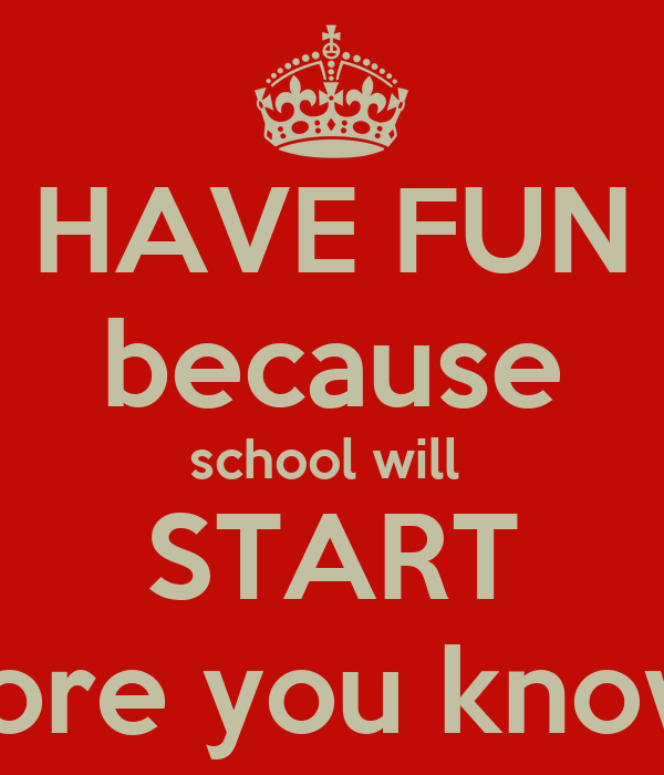 how to make schol fun