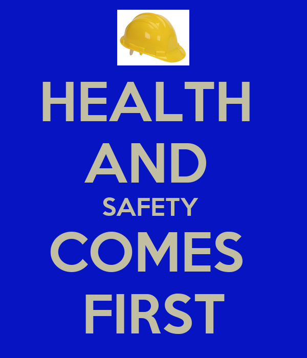 health and safety comes first poster waqar keep calm o