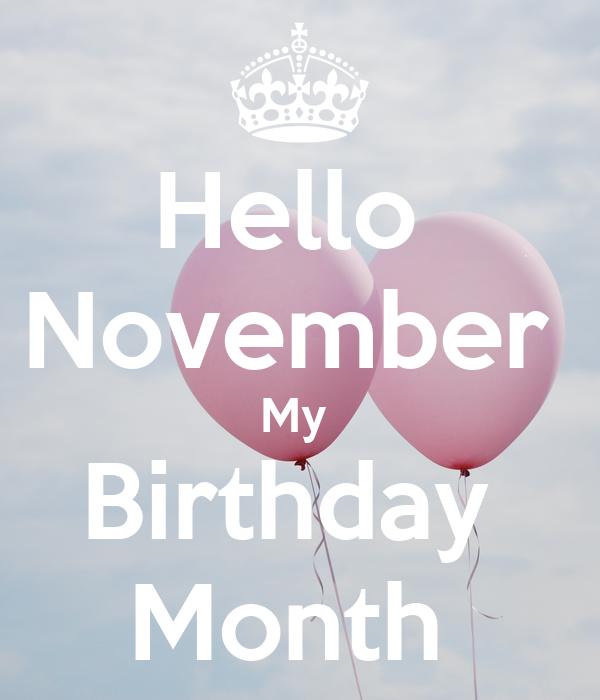 my birthday month - 600×700