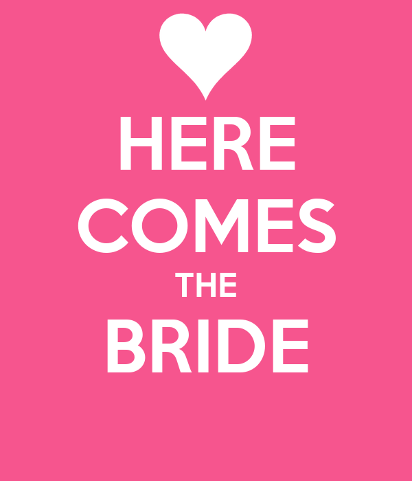 Here Comes The Bride By Richard Wagner: Here Comes The Bride Is